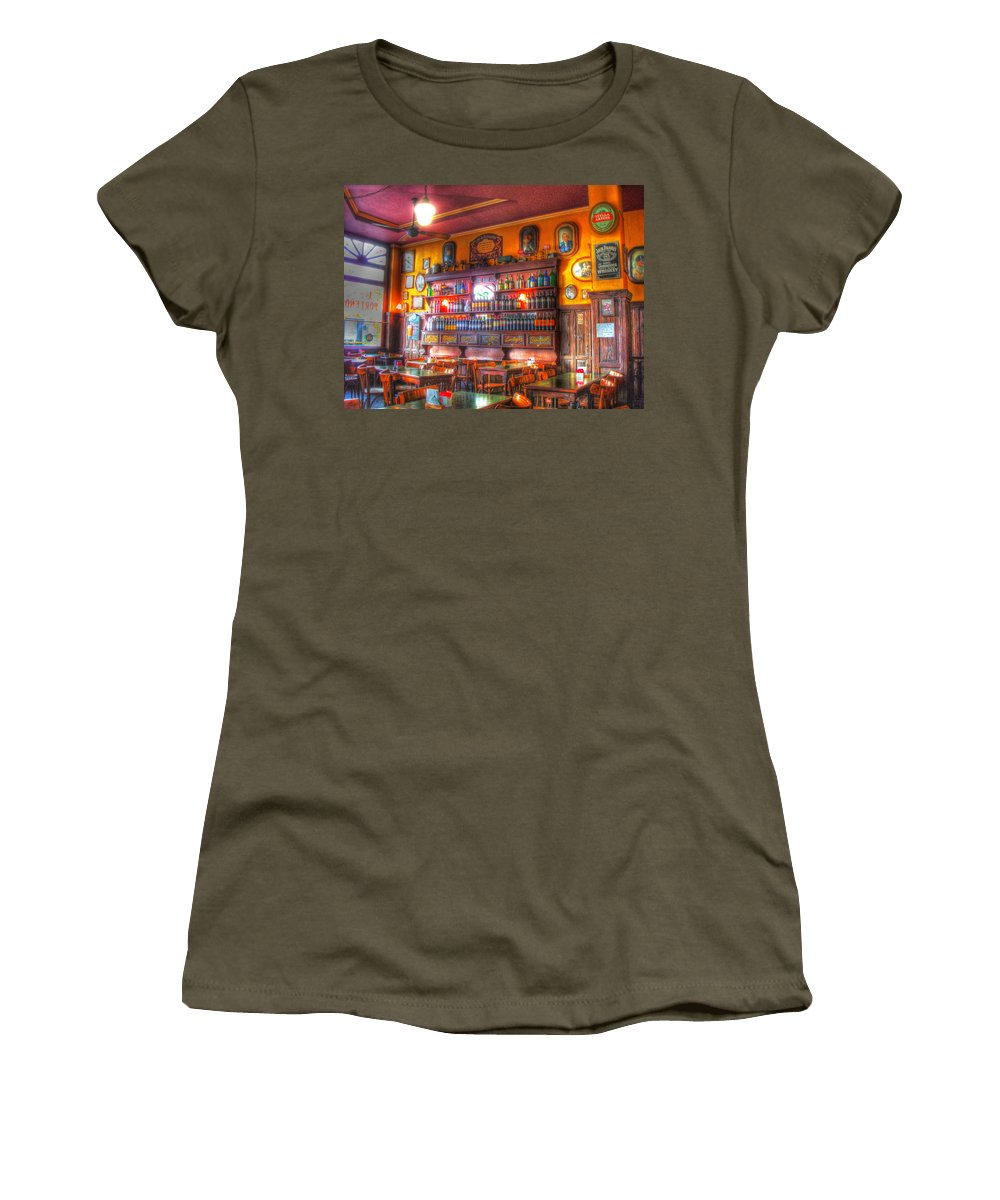 Buenos Aires Women's T-Shirt featuring the photograph El Porteno by Francisco Colon