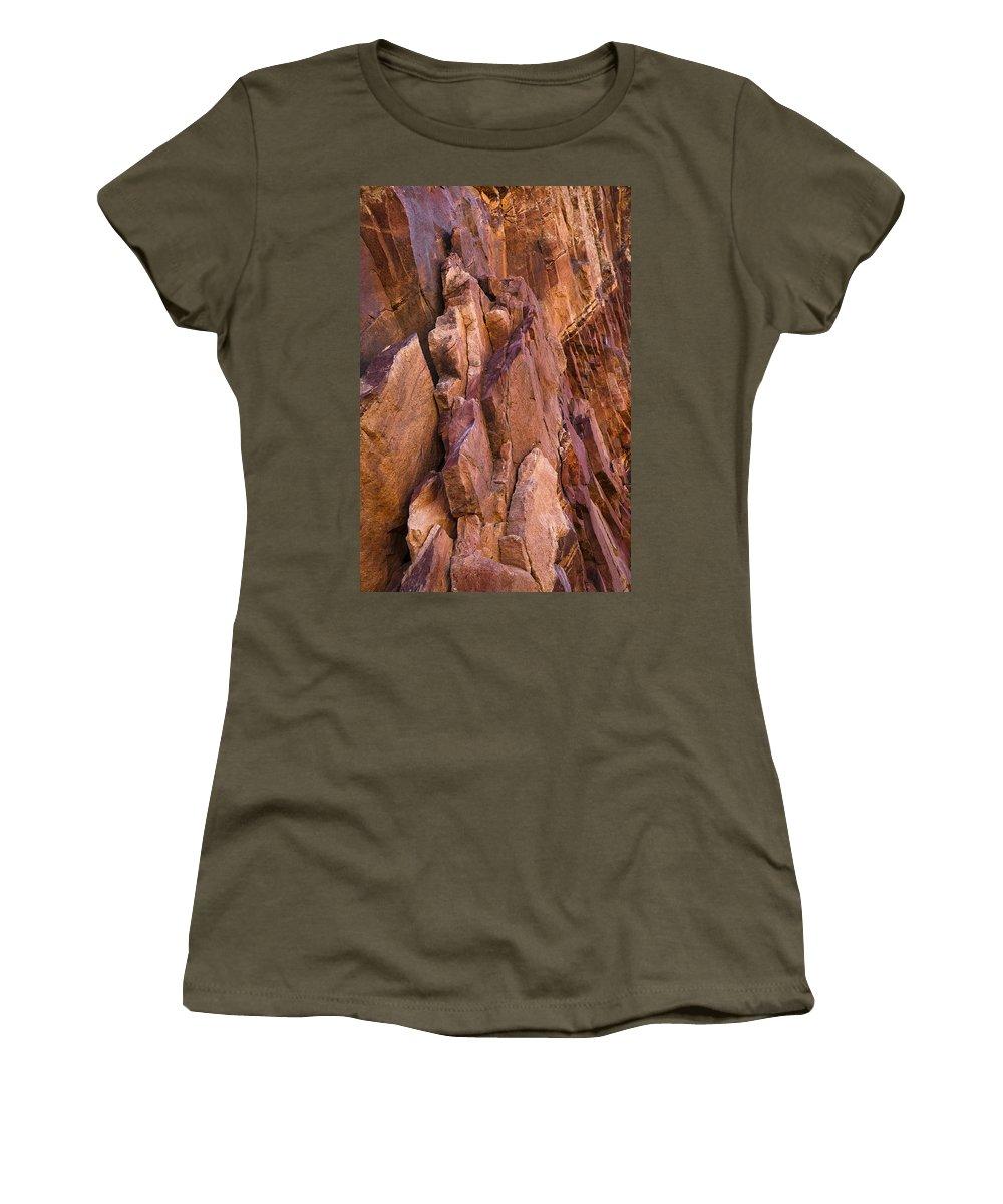 Eldorado Women's T-Shirt (Athletic Fit) featuring the photograph Eldorado Springs 8 by Marilyn Hunt