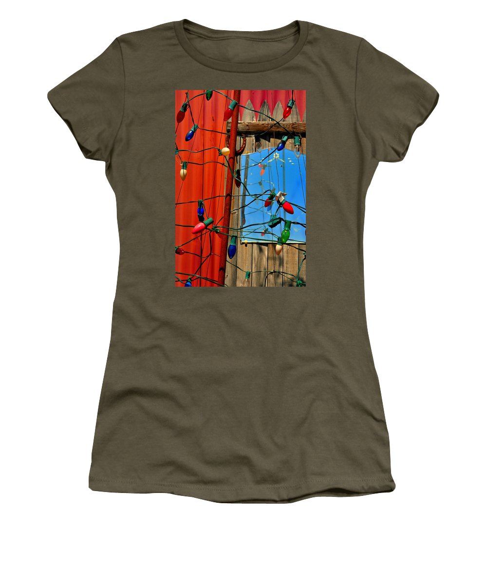 Skip Hunt Women's T-Shirt featuring the photograph Electric Lady Land by Skip Hunt
