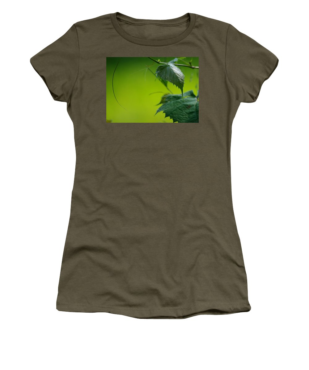 Jenny Gandert Women's T-Shirt (Athletic Fit) featuring the photograph Fading Memories by Jenny Gandert