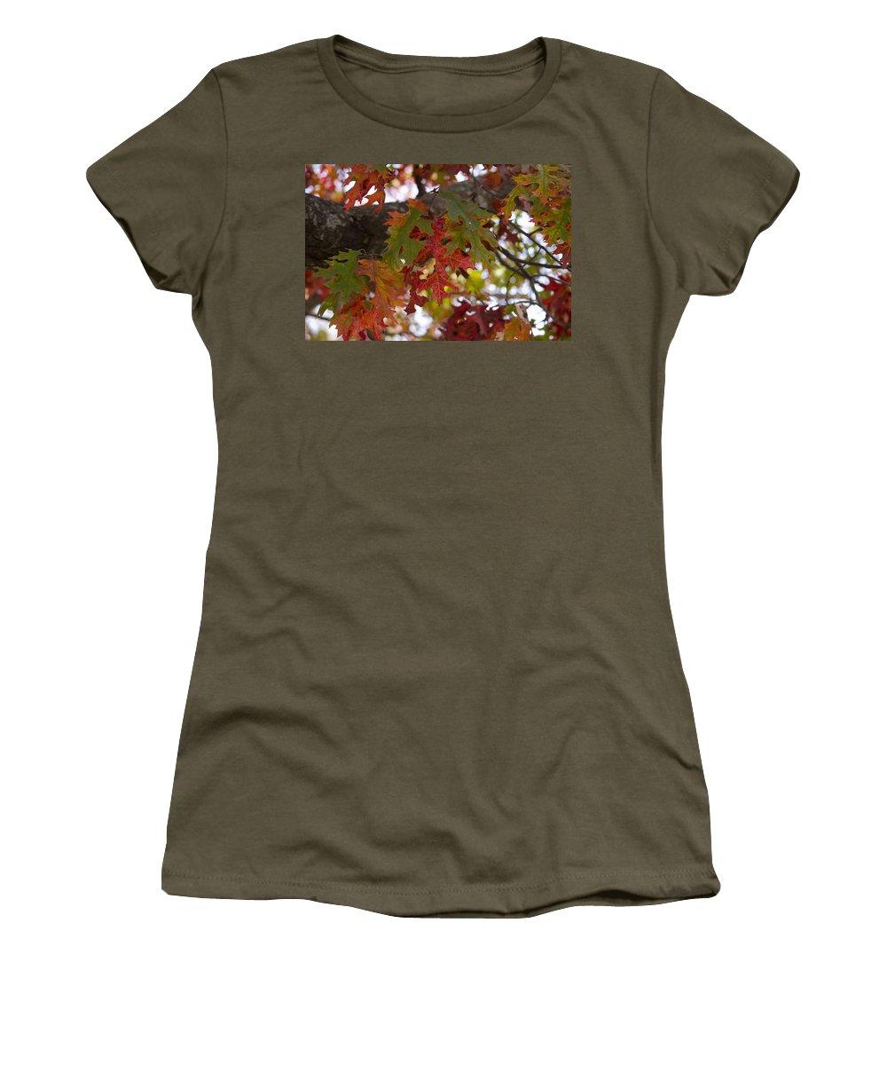 Women's T-Shirt featuring the photograph Fall In Virginia by Brian Jordan