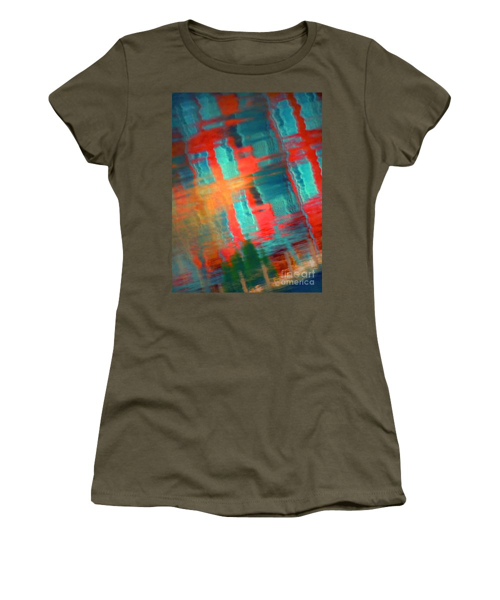 Reflections Women's T-Shirt featuring the photograph February 15 2010 by Tara Turner