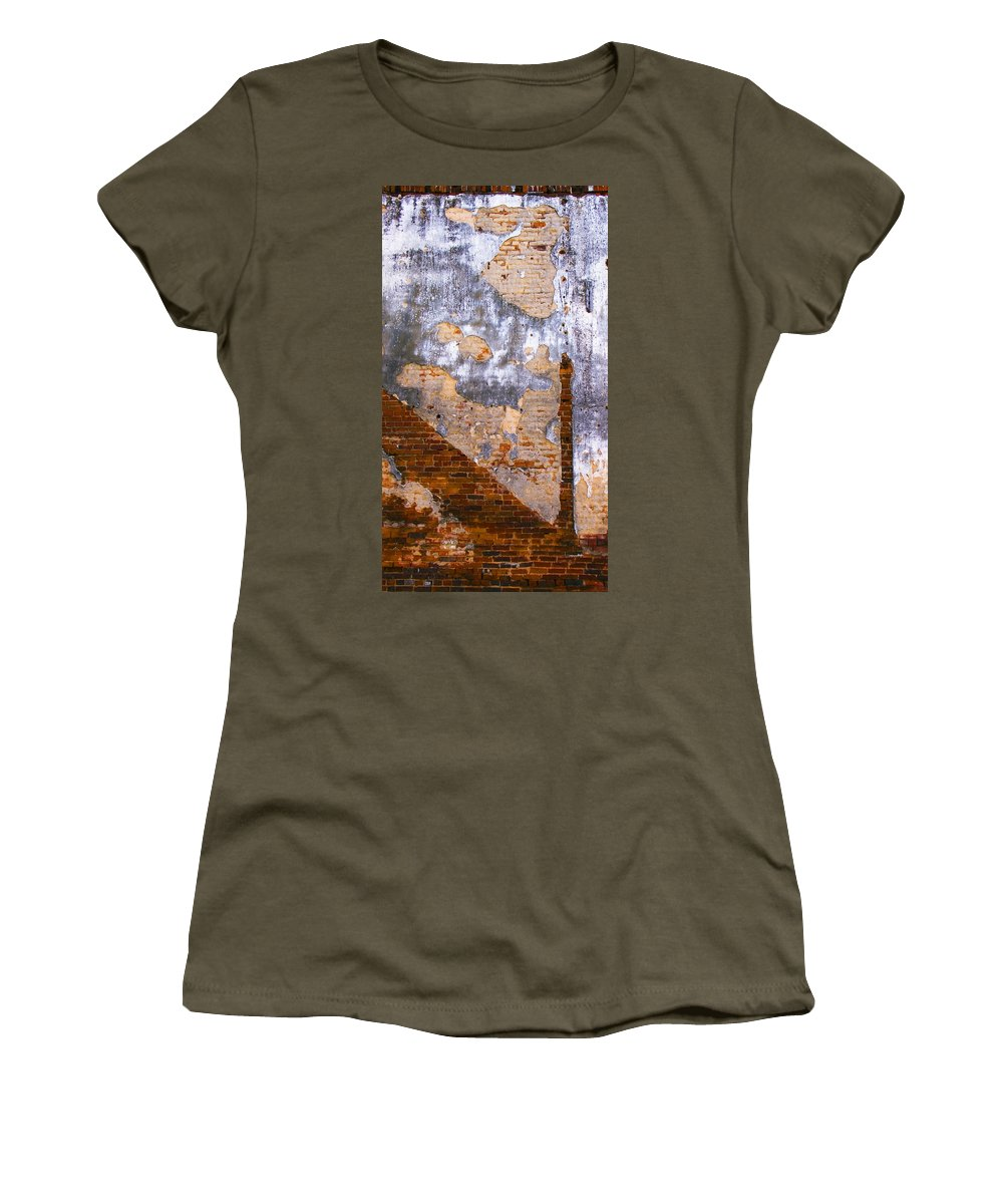 Architecture Women's T-Shirt (Athletic Fit) featuring the photograph Finger Food by Skip Hunt