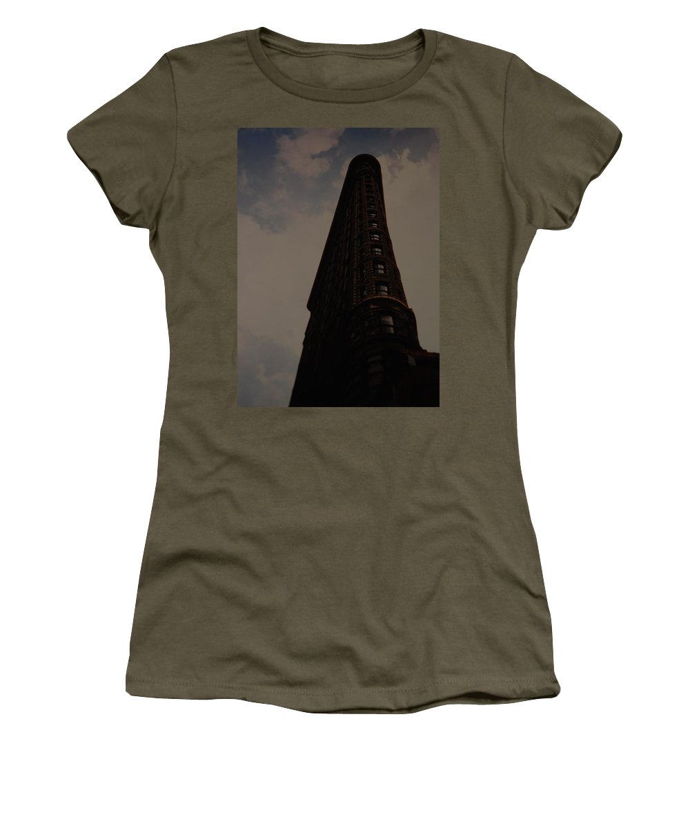 Flat Iron Building Women's T-Shirt featuring the photograph Flat Iron Building by Rob Hans