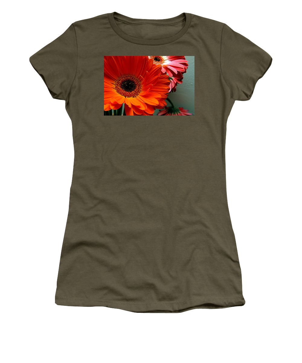 Clay Women's T-Shirt featuring the photograph Floral Art by Clayton Bruster