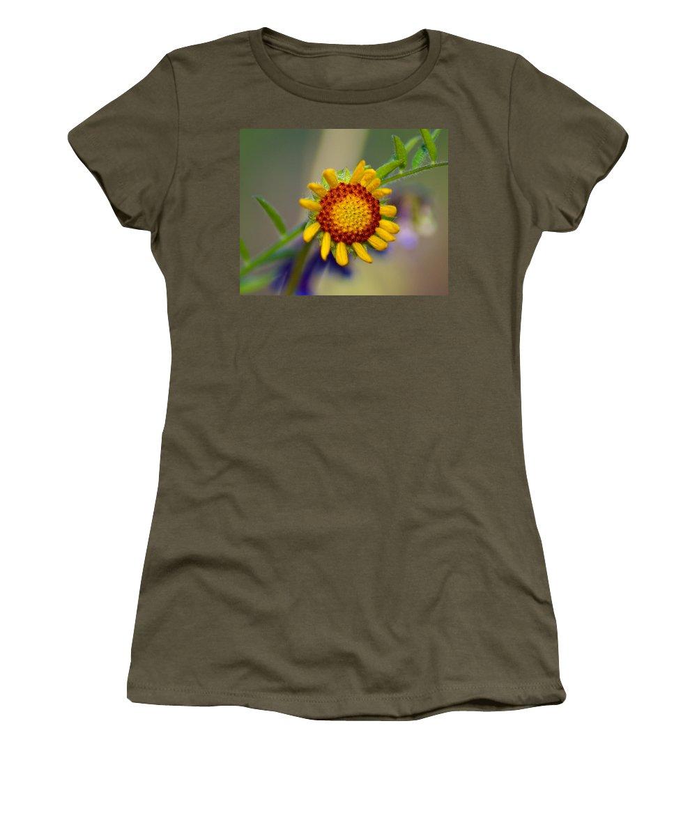 Flowers Women's T-Shirt featuring the photograph Flower Power by Ben Upham III