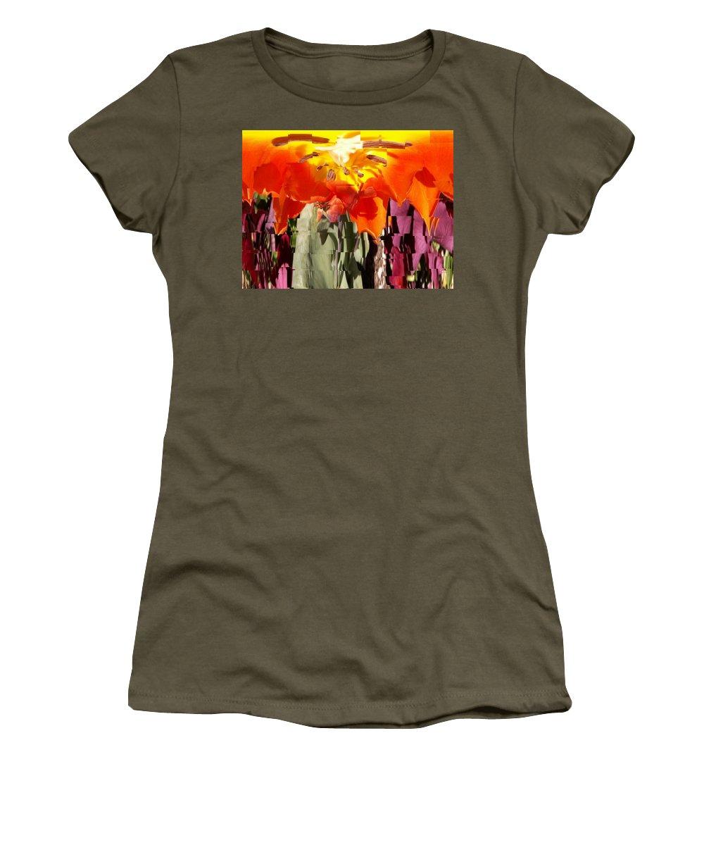 Flower Women's T-Shirt featuring the photograph Flower by Tim Allen