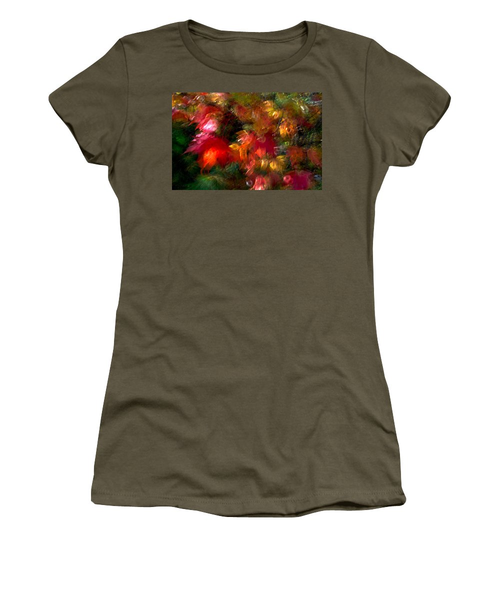Canada Women's T-Shirt featuring the photograph Flury by Doug Gibbons