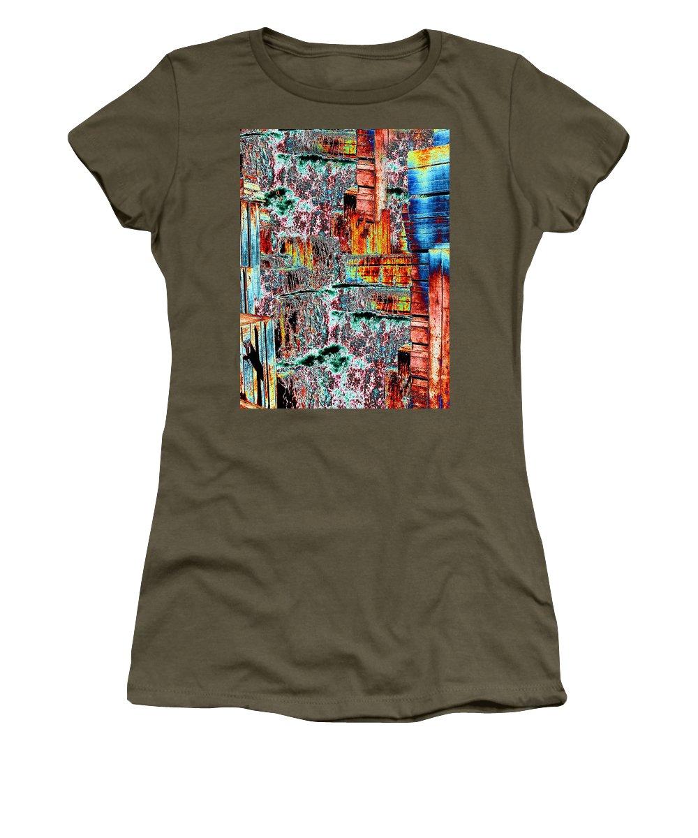 Seattle Women's T-Shirt featuring the photograph Freeway Park 6 by Tim Allen