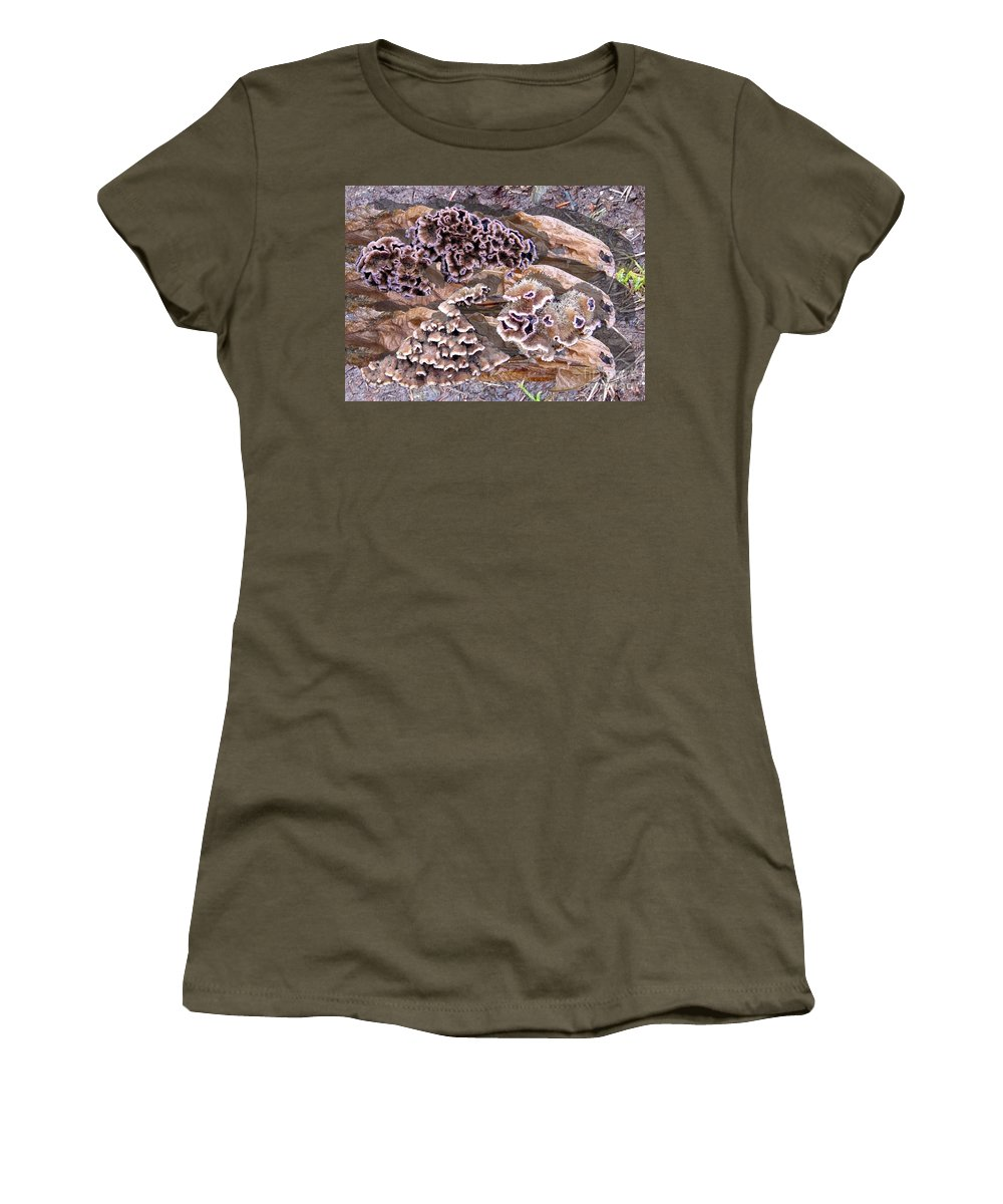 Fungi Art Women's T-Shirt featuring the digital art Fun Guy by Ron Bissett