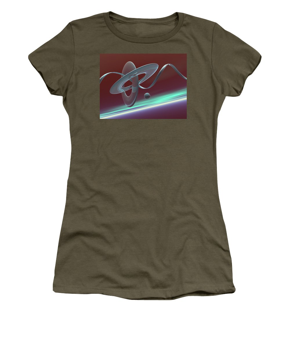 Cott Piers Women's T-Shirt (Athletic Fit) featuring the photograph G46t by Scott Piers