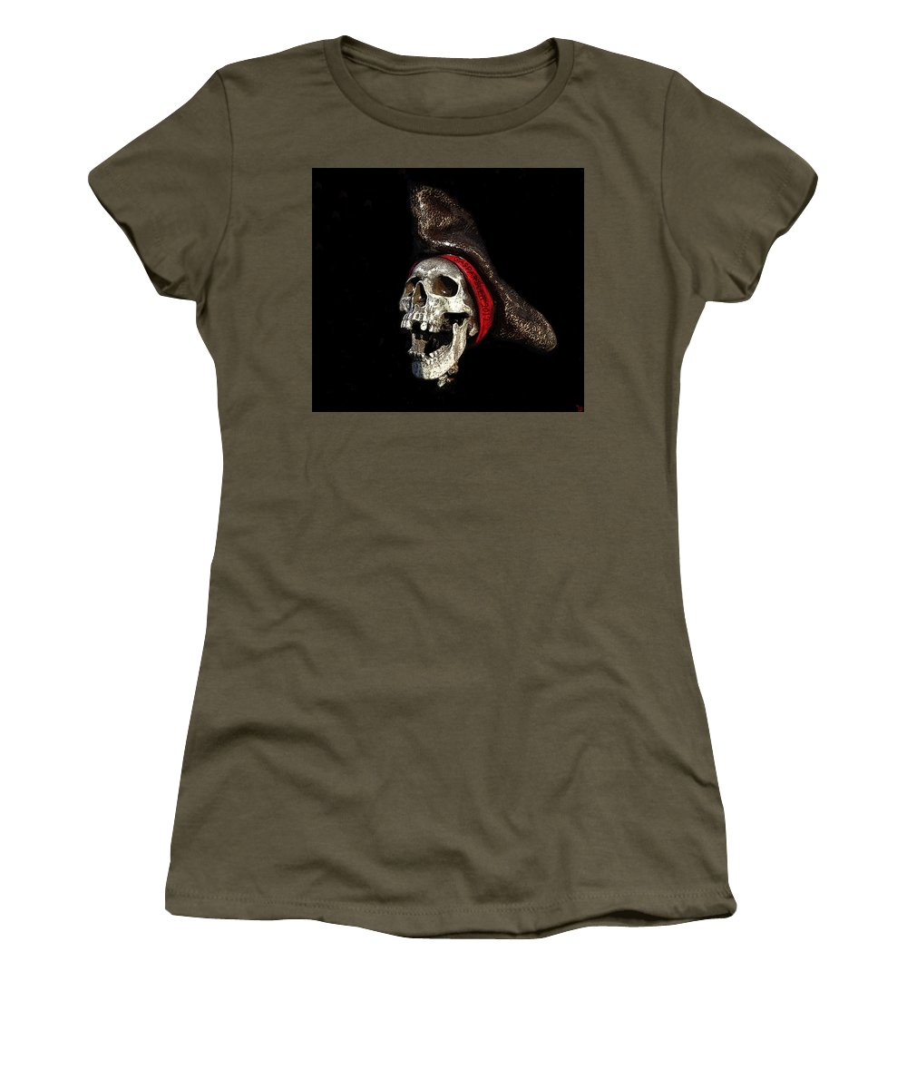 Art Women's T-Shirt featuring the painting Gasparilla 2012 by David Lee Thompson