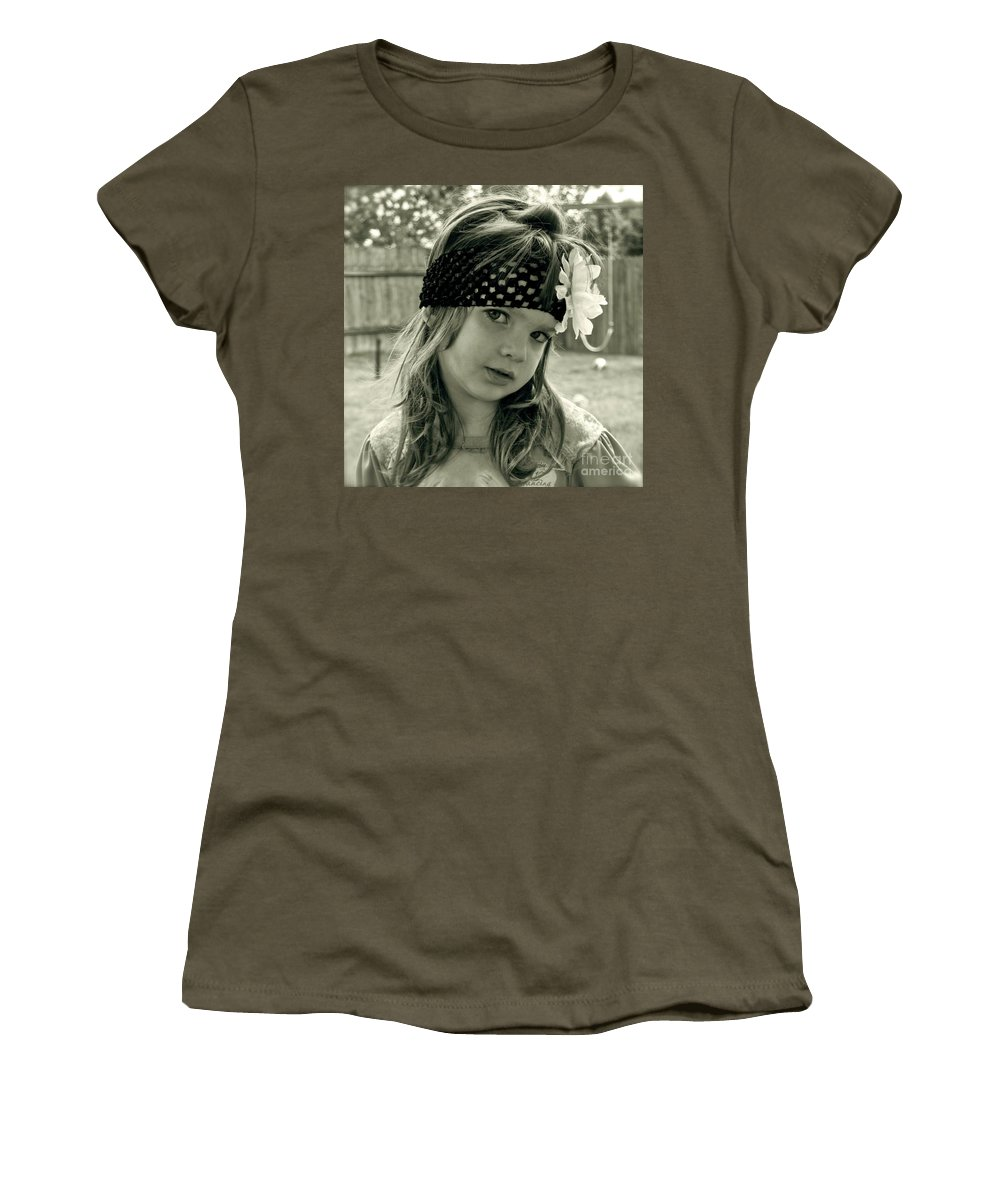 Girl Women's T-Shirt featuring the photograph Girls Rule by Gwyn Newcombe