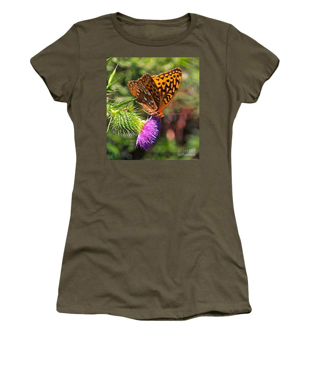 Related Tags: Women's T-Shirt (Athletic Fit) featuring the photograph Gods Creation-18 by Robert Pearson