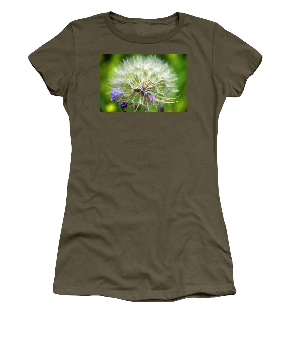 Women's T-Shirt (Athletic Fit) featuring the photograph Gone To Seed by Marty Koch