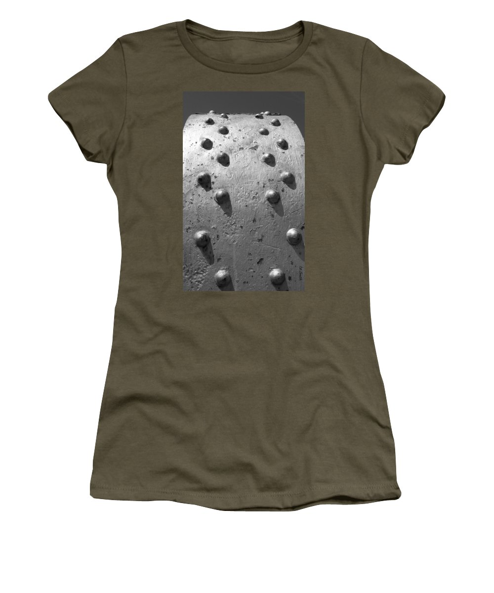 Goose Bumps Women's T-Shirt featuring the photograph Goose Bumps by Ed Smith