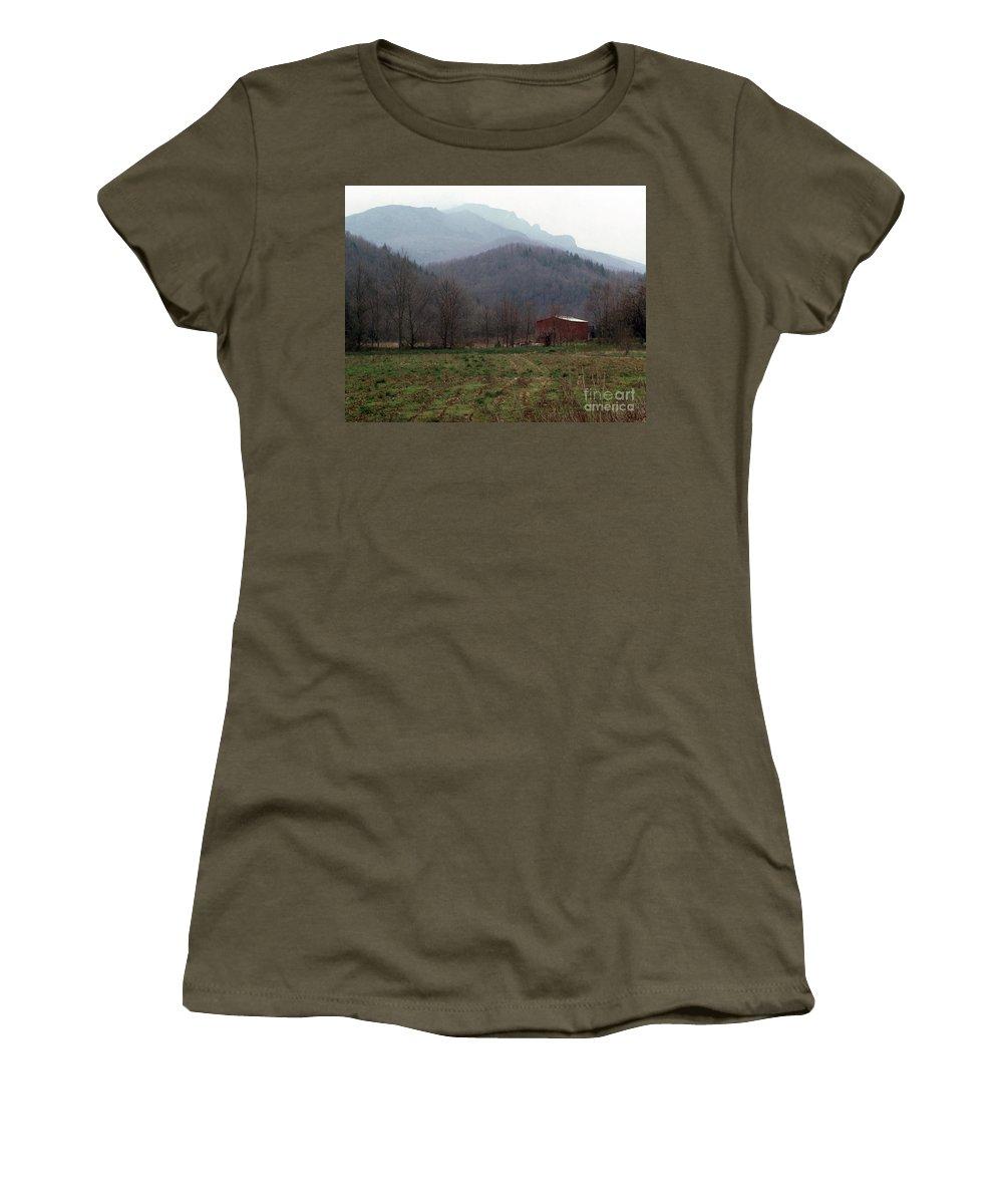 North Carolina Women's T-Shirt featuring the photograph Grandfather Mountain by Richard Rizzo