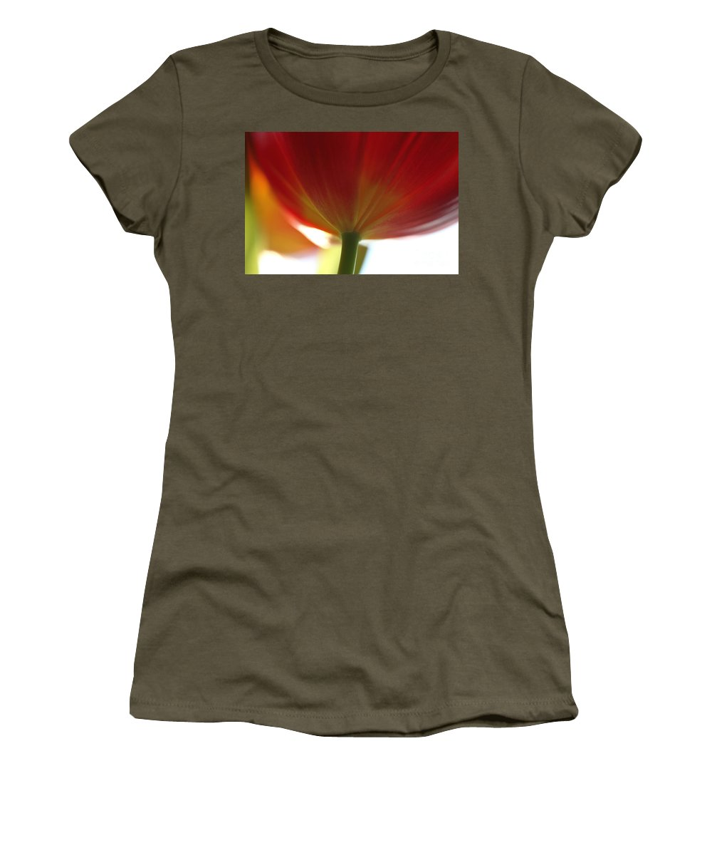 Tulip Women's T-Shirt featuring the photograph Help Is Here by Amanda Barcon
