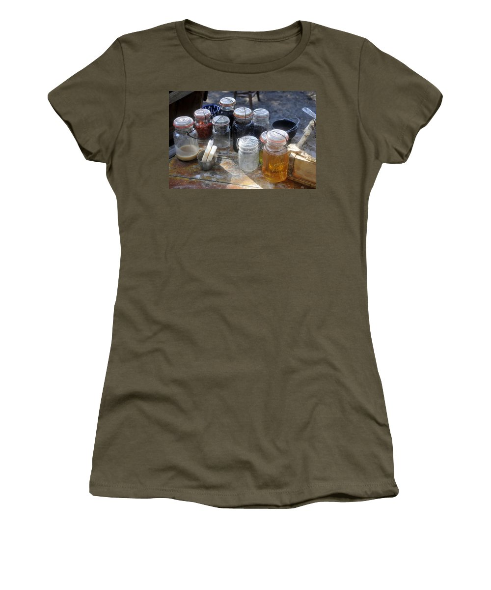 Homemade Women's T-Shirt featuring the photograph Homemade by David Lee Thompson