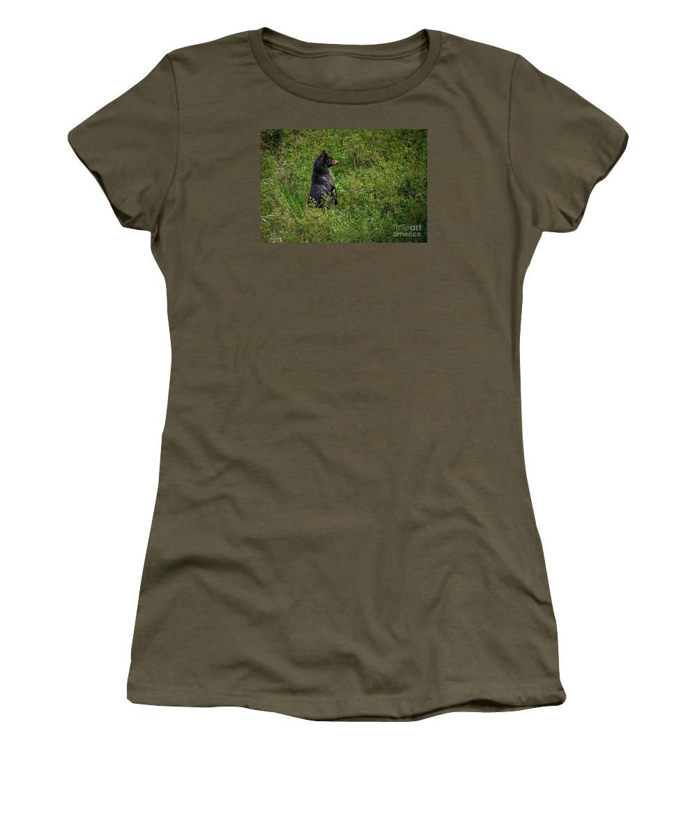 Wildlife Women's T-Shirt featuring the photograph I Am So Handsome by Robert Bales