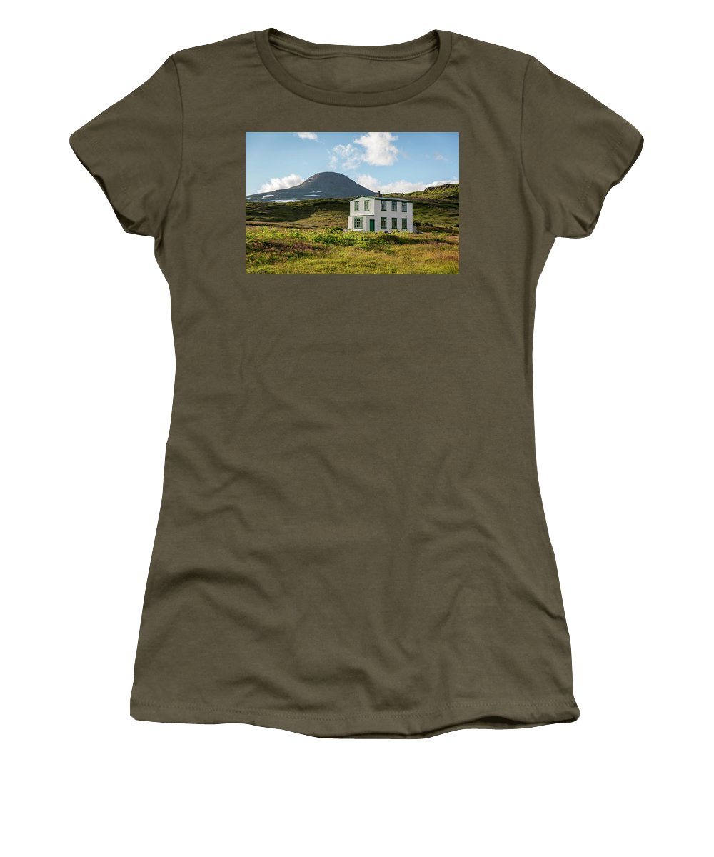 Iceland Women's T-Shirt (Athletic Fit) featuring the photograph Iceland 32 by Valeriy Shvetsov