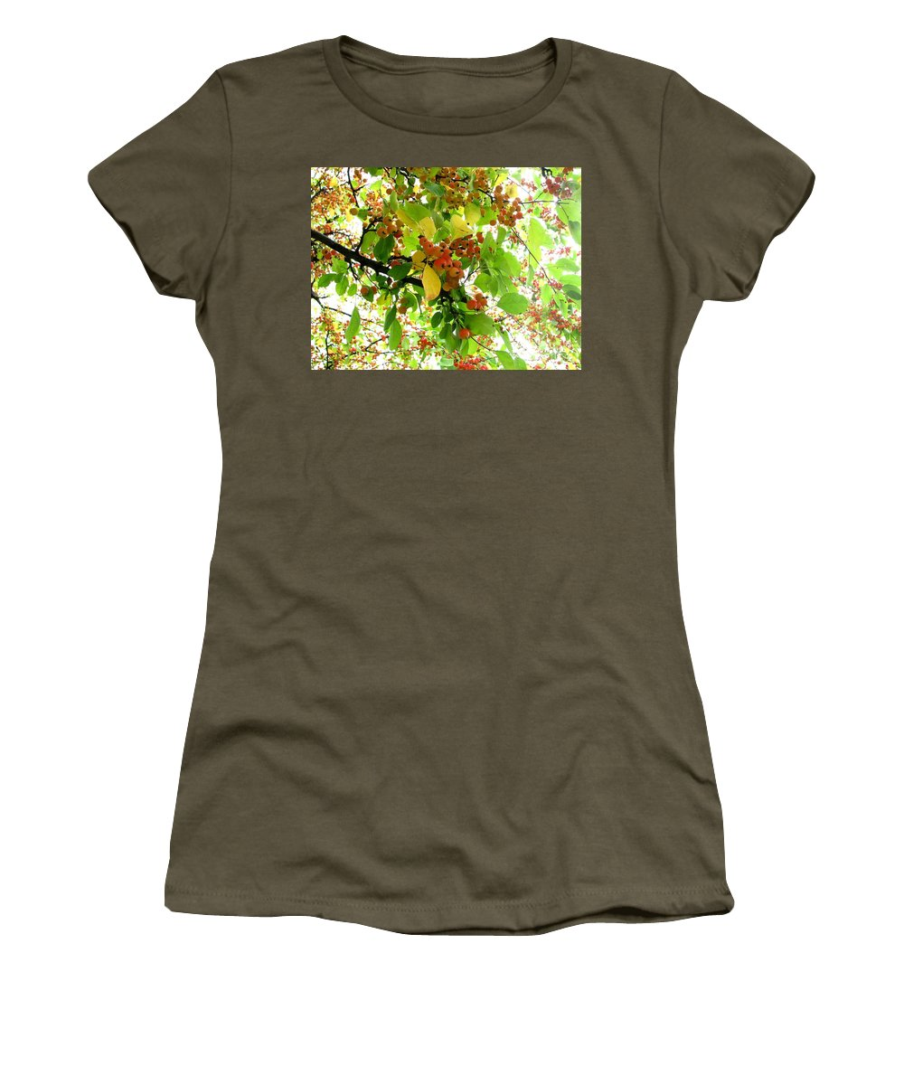 Tree Women's T-Shirt featuring the photograph In Bloom by Amanda Kessel
