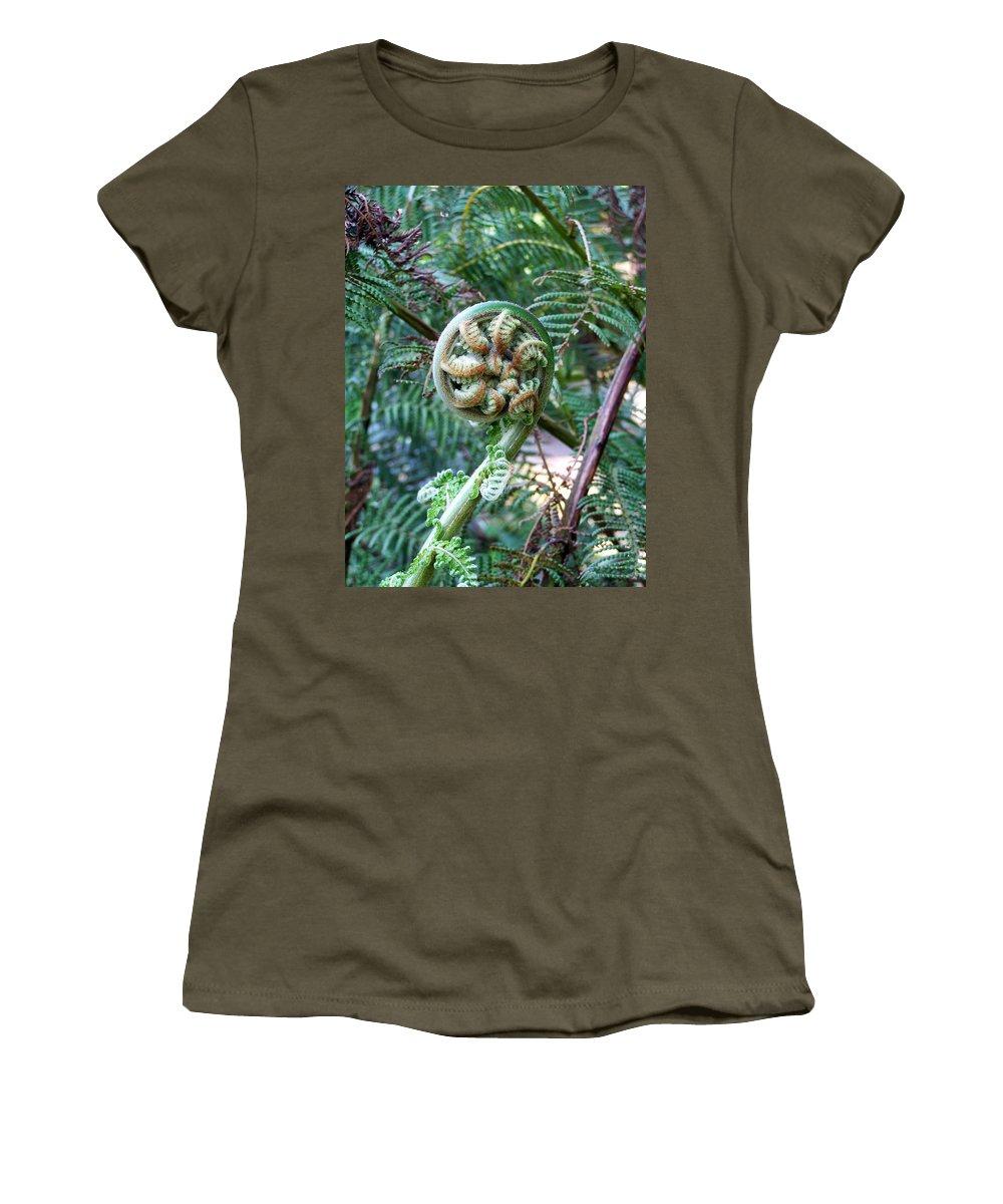 Irish Women's T-Shirt (Athletic Fit) featuring the photograph Irish Fiddler by Teresa Mucha