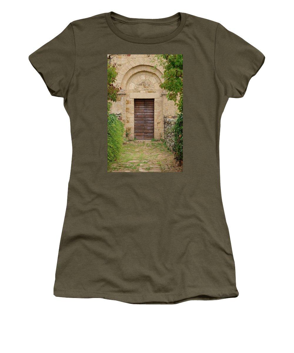 Italy Women's T-Shirt featuring the photograph Italy - Door Twenty Five by Jim Benest