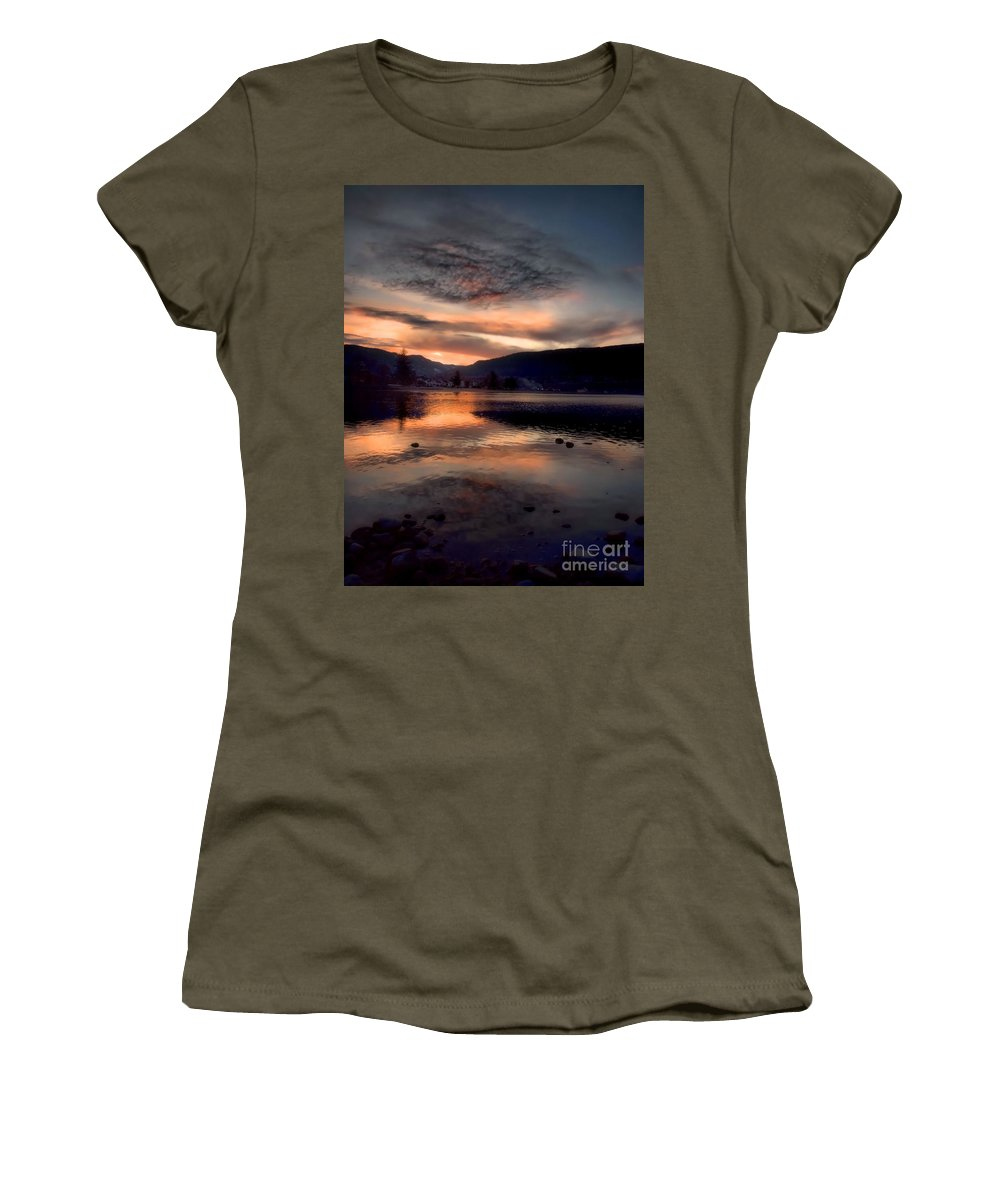 Clouds Women's T-Shirt featuring the photograph January 16 2010 by Tara Turner