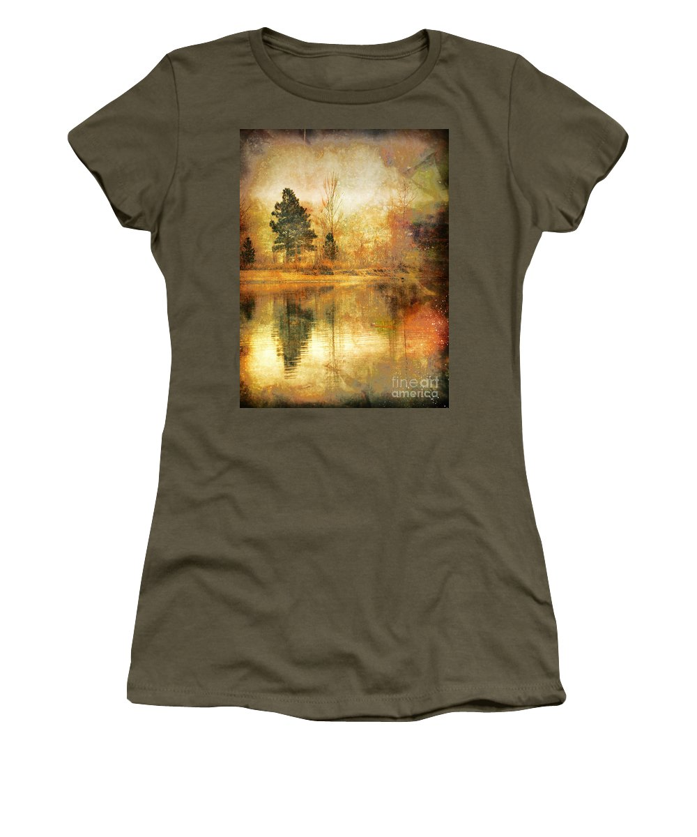 Trees Women's T-Shirt featuring the photograph January 26 2010 by Tara Turner