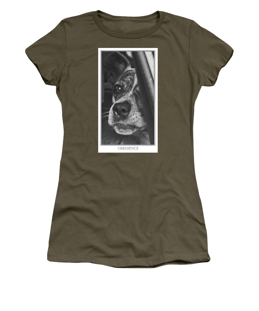 Dog Women's T-Shirt featuring the photograph Jazz by Karen W Meyer