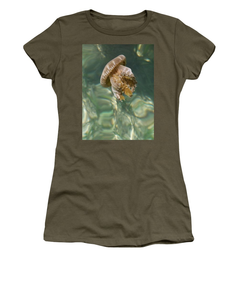 Jelly Women's T-Shirt (Athletic Fit) featuring the photograph Jelly Belly by Gale Cochran-Smith