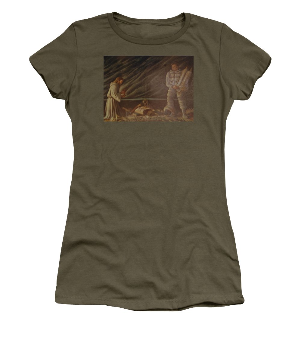 Jesus Women's T-Shirt featuring the photograph Jews In Space by Rob Hans