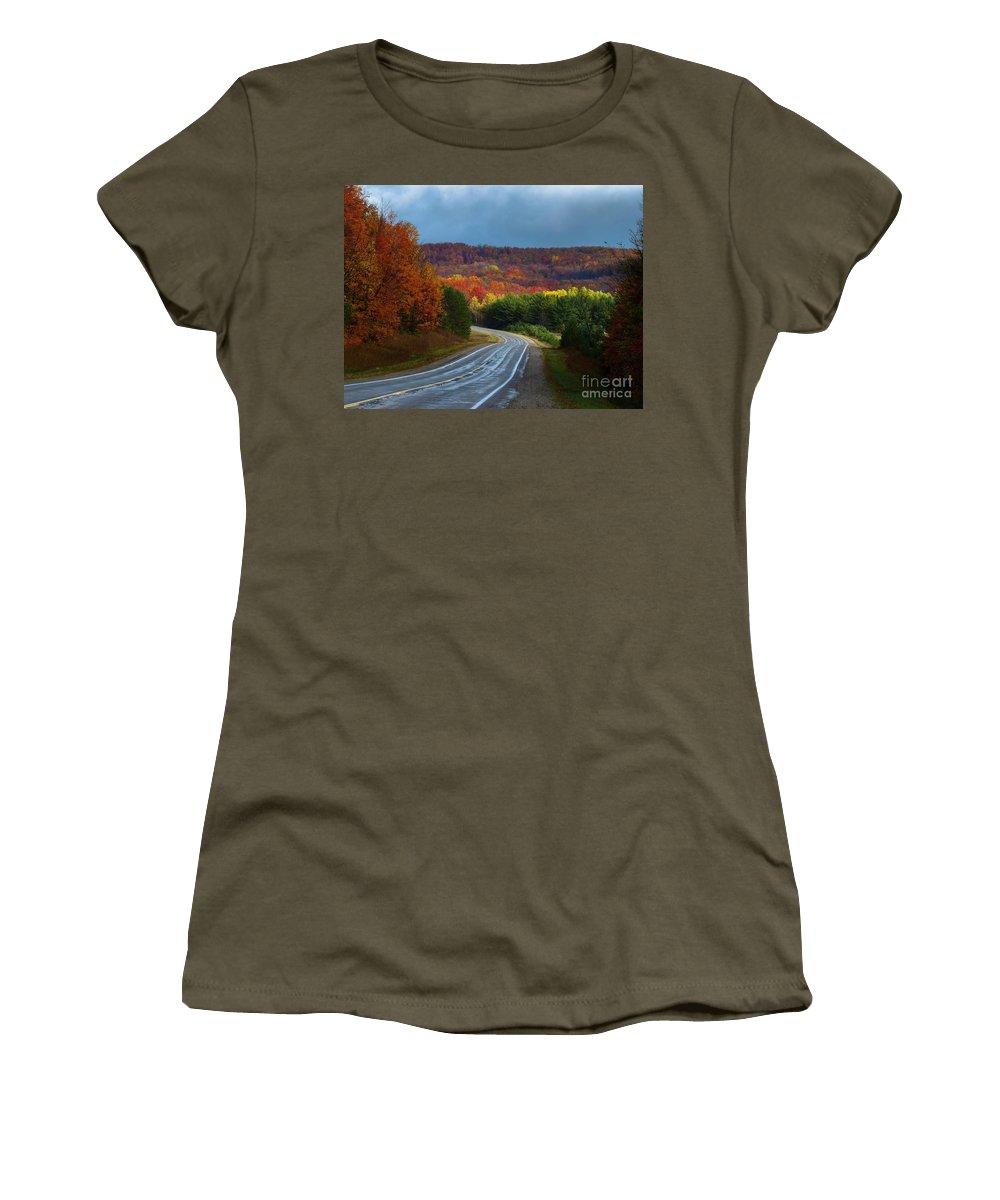 Jordan Valley Grandeur Women's T-Shirt featuring the photograph Jordan Valley Grandeur by Teresa A and Preston S Cole Photography