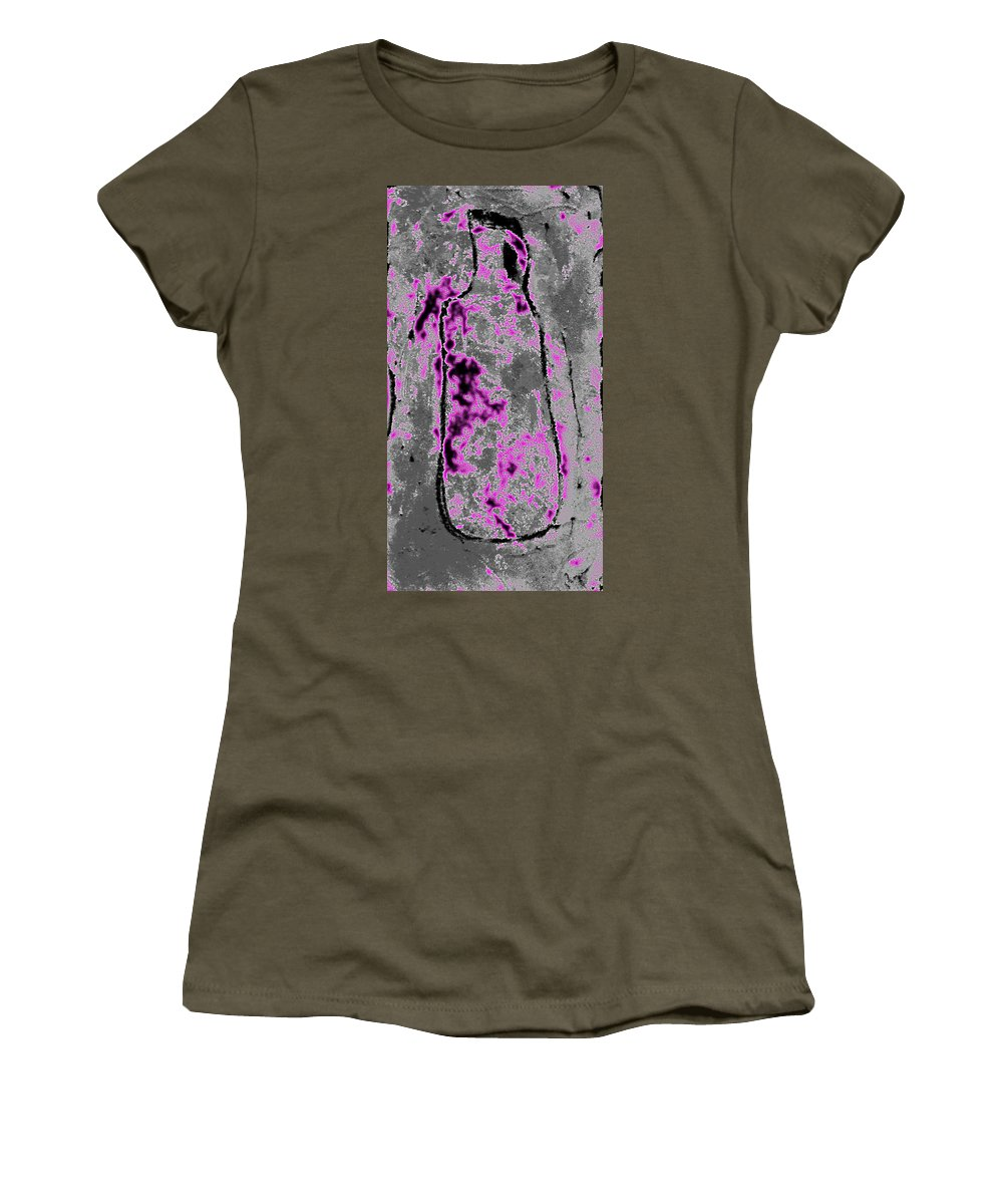 Jug Women's T-Shirt featuring the painting Jug by Wayne Potrafka