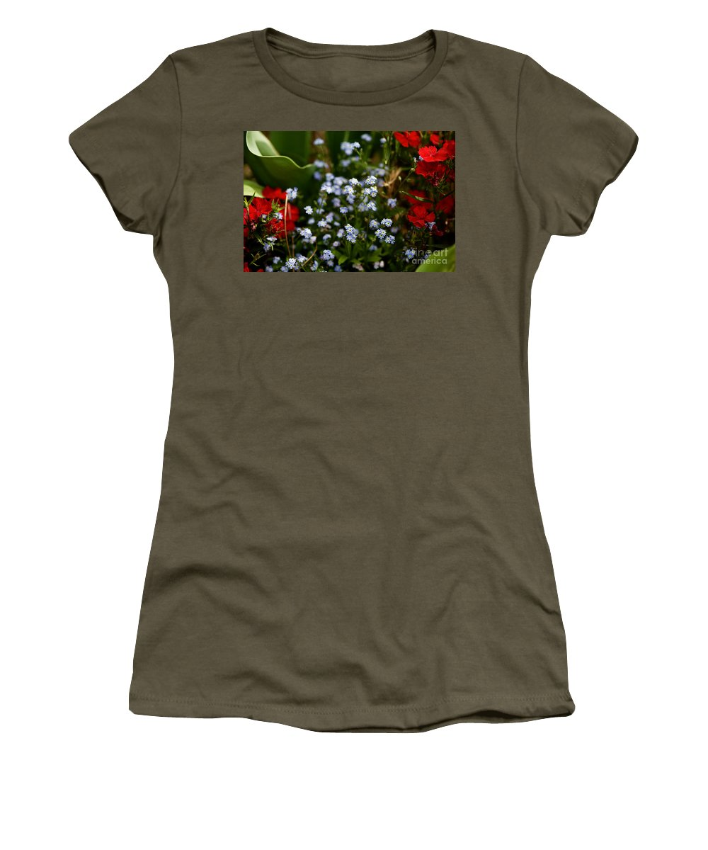 Flowers Women's T-Shirt featuring the photograph Keeping by Lara Morrison