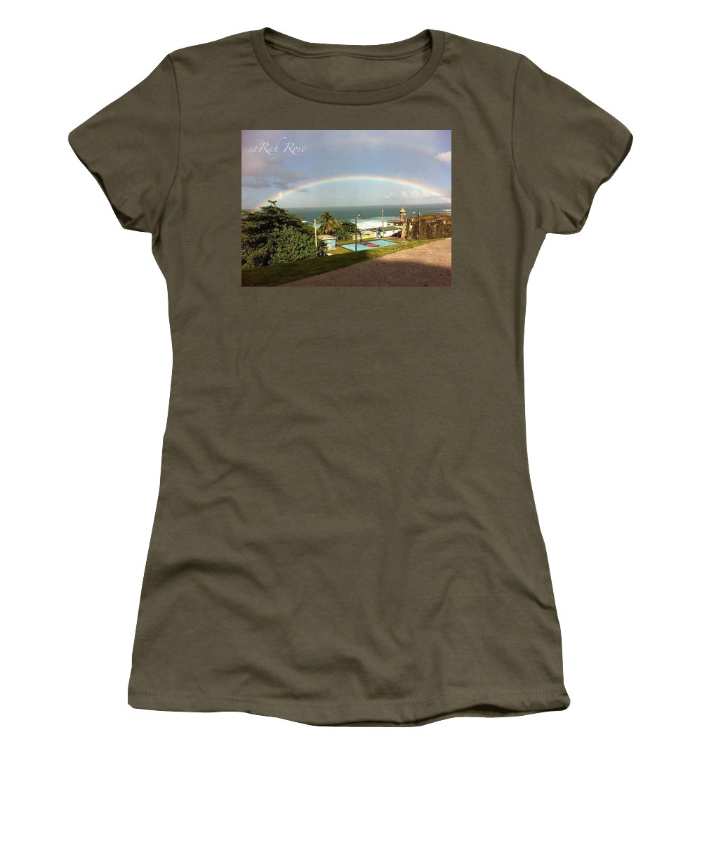 La Perla Women's T-Shirt featuring the photograph La Perla by Sarah Horton