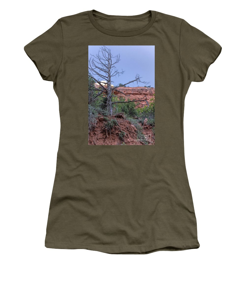 Utah Women's T-Shirt featuring the photograph Life And Death by Peggy Hughes