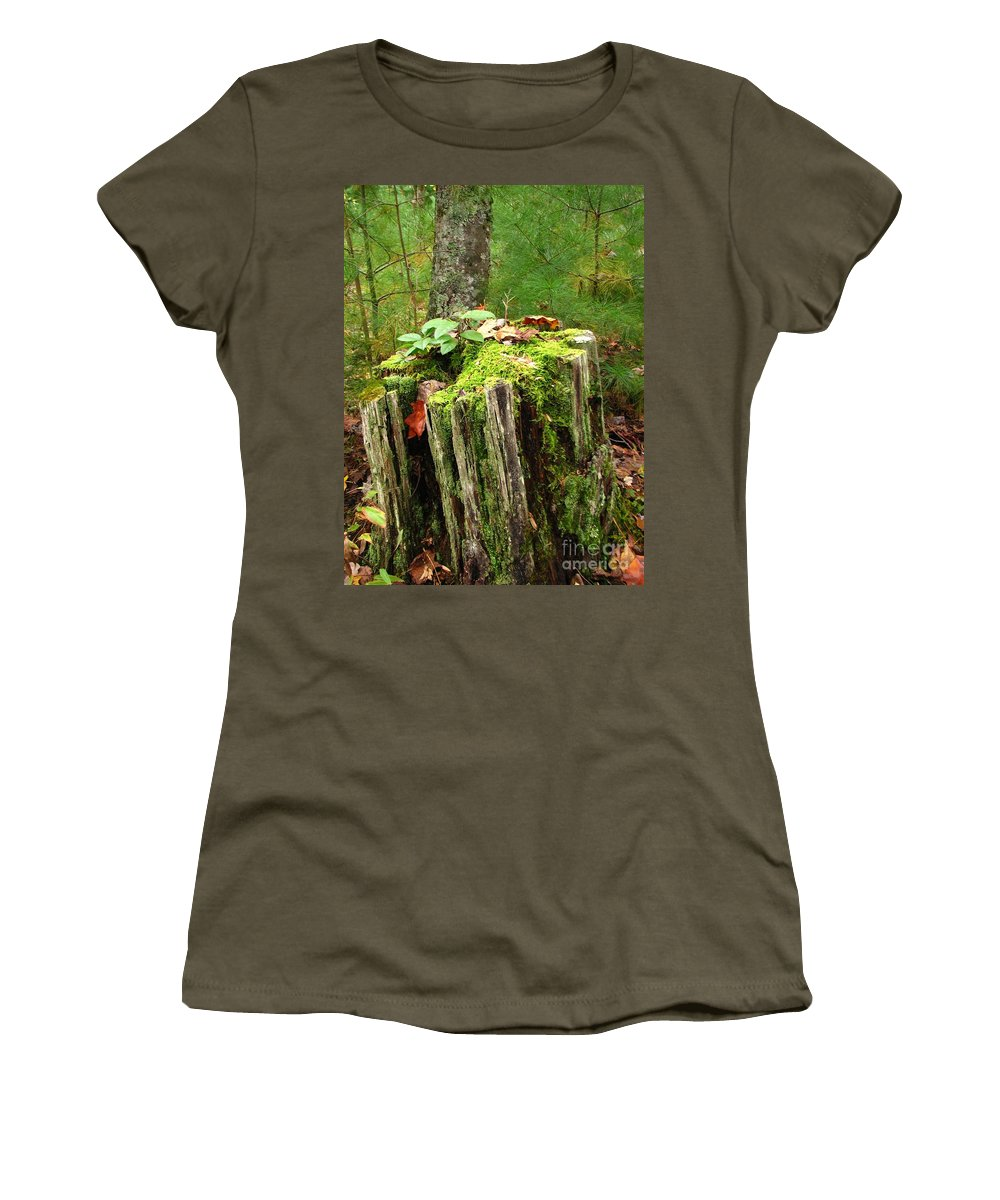 Landscape Women's T-Shirt featuring the photograph Life Goes On by Todd Blanchard
