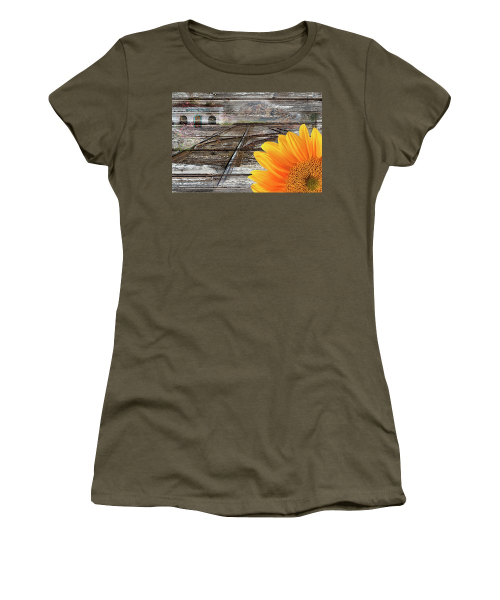 Choice Women's T-Shirt featuring the photograph Life by Phyllis Denton