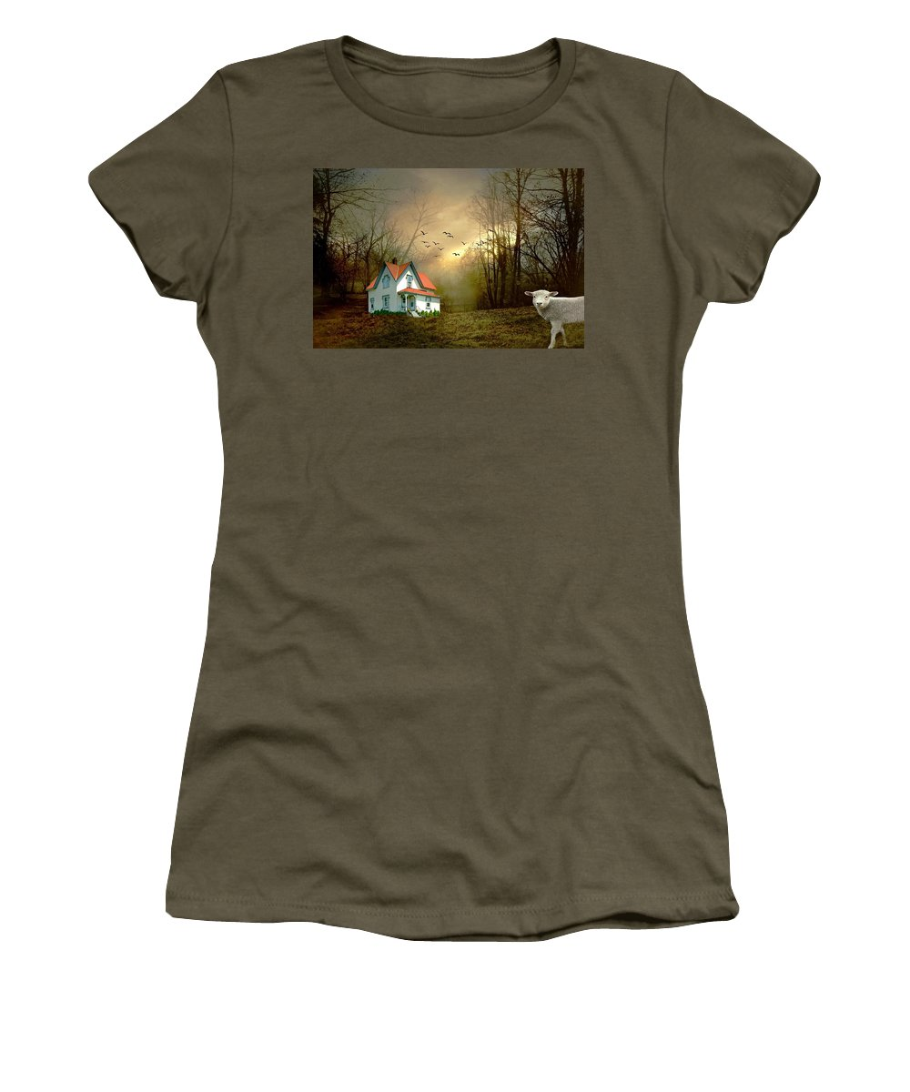 Light Up The World Women's T-Shirt featuring the photograph Light Up The World by Diana Angstadt