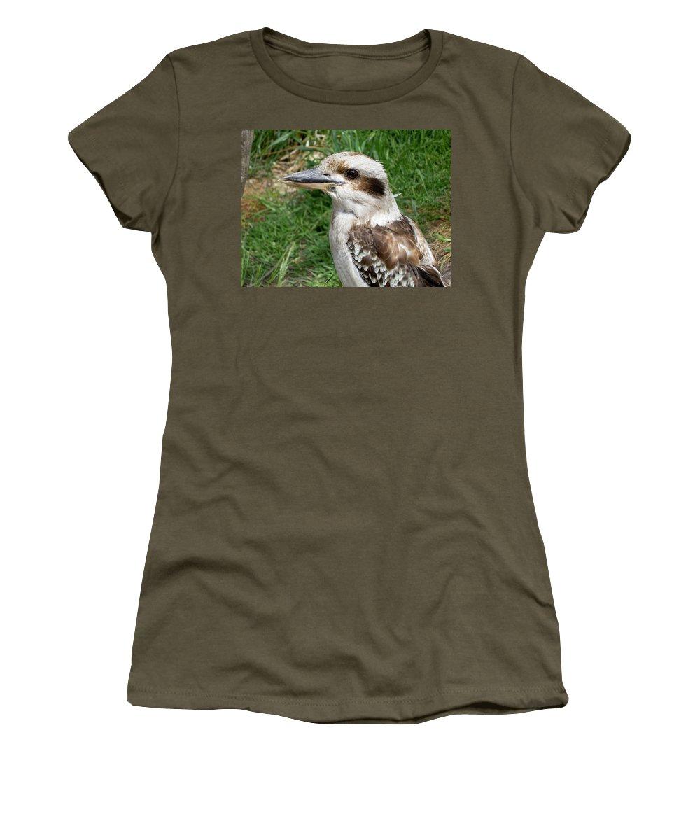 Laughing Women's T-Shirt featuring the photograph LOL by Douglas Barnard