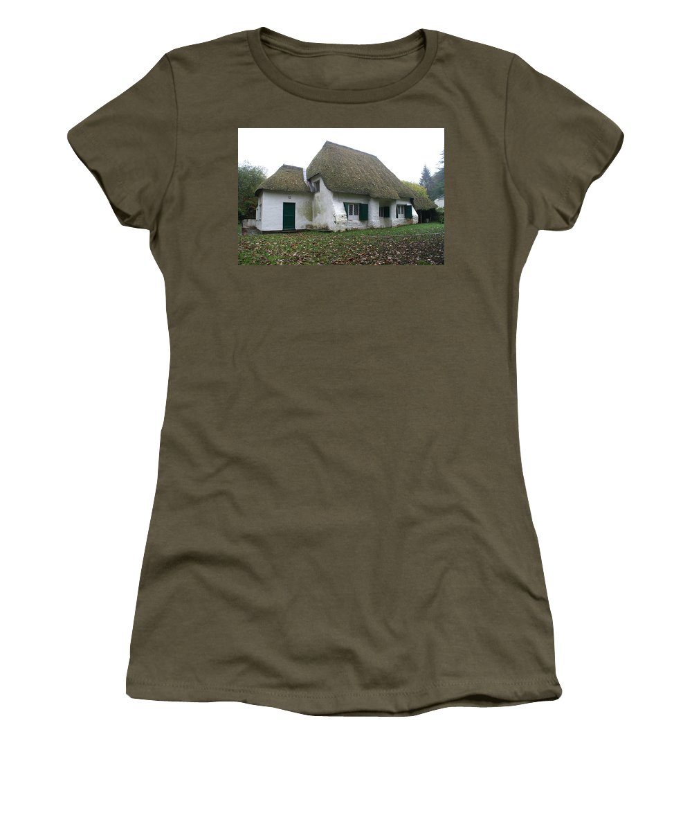 Photography Women's T-Shirt featuring the photograph Meeting House by Brian Leverton