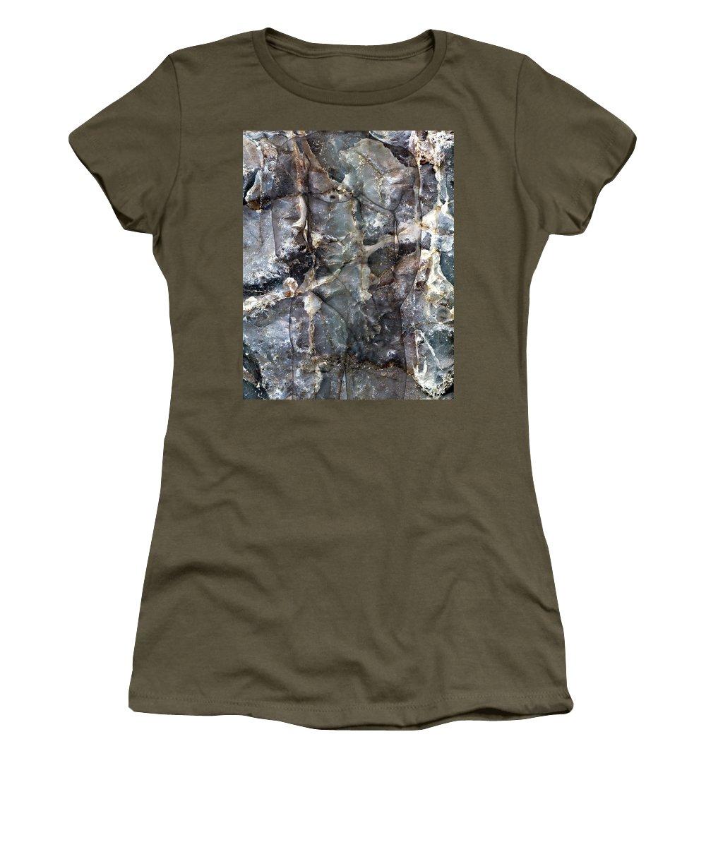 Nudes Women's T-Shirt featuring the photograph Metamorphosis Male by Kurt Van Wagner