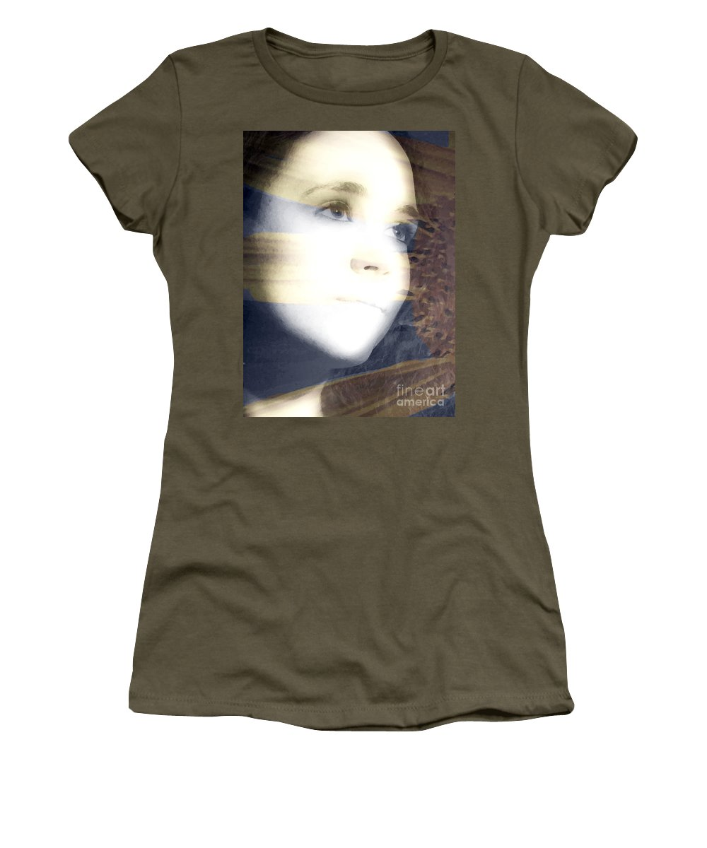 Modern Women's T-Shirt (Athletic Fit) featuring the photograph Mother Nature by Amanda Barcon