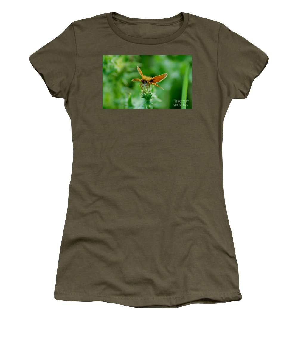 Landscape Women's T-Shirt (Athletic Fit) featuring the photograph Mothera by David Lane