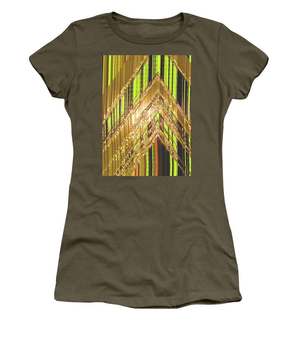 Moveonart! Digital Gallery Women's T-Shirt featuring the digital art Moveonart Amplify Your Creativity Three by Jacob Kanduch