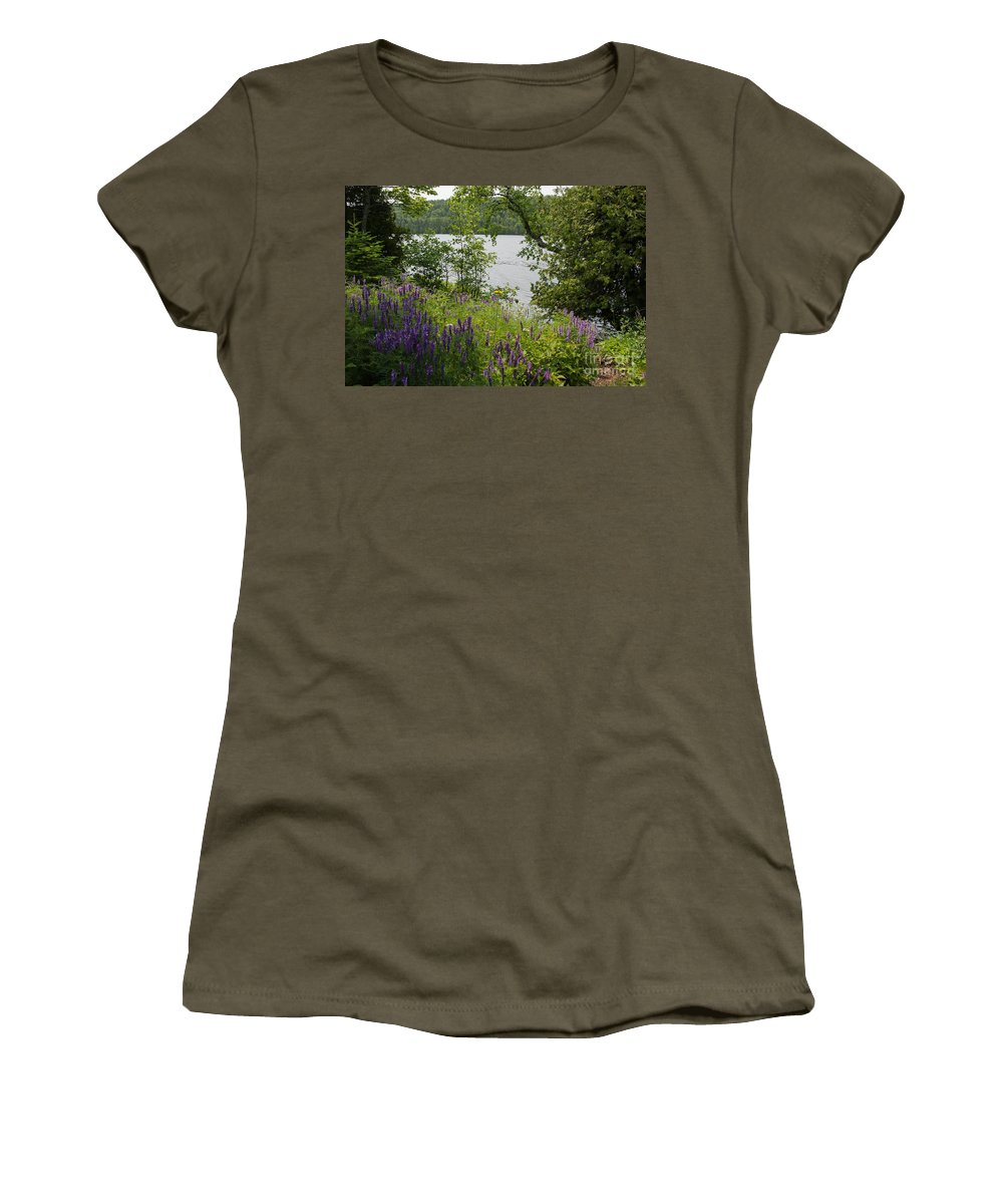 Natural Women's T-Shirt featuring the photograph Natural Beauty by Wesley Farnsworth