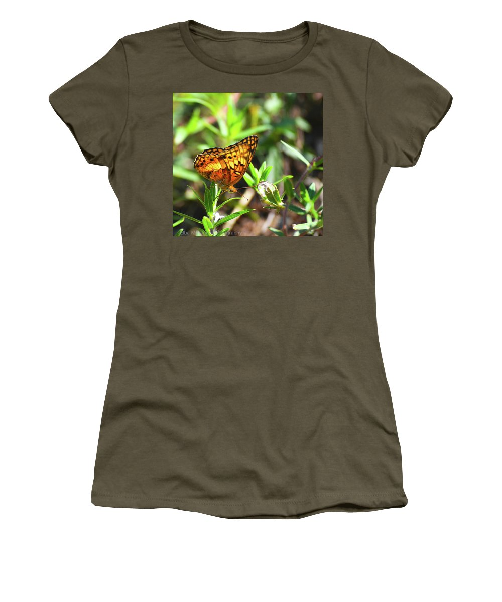 Nature Women's T-Shirt featuring the photograph Nature From South Carolina by Elba Martinez