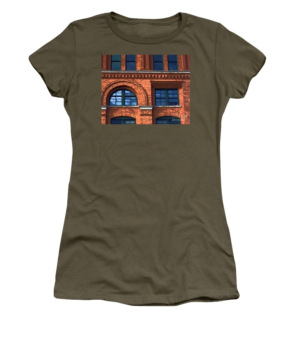 6th Floor Museum Women's T-Shirt (Athletic Fit) featuring the photograph Never Forget Jfk by Debbi Granruth